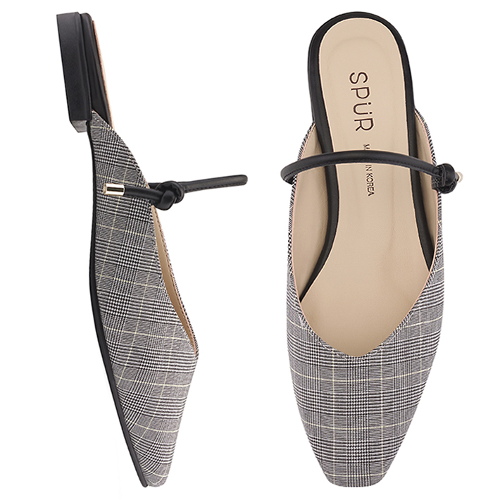 SPUR[스퍼]PS9030 String maryjanes bloafer 블랙