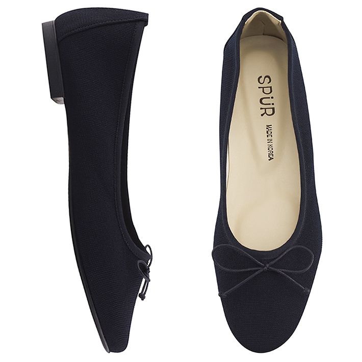 SPUR[스퍼]PS7003 Dainty flat 네이비