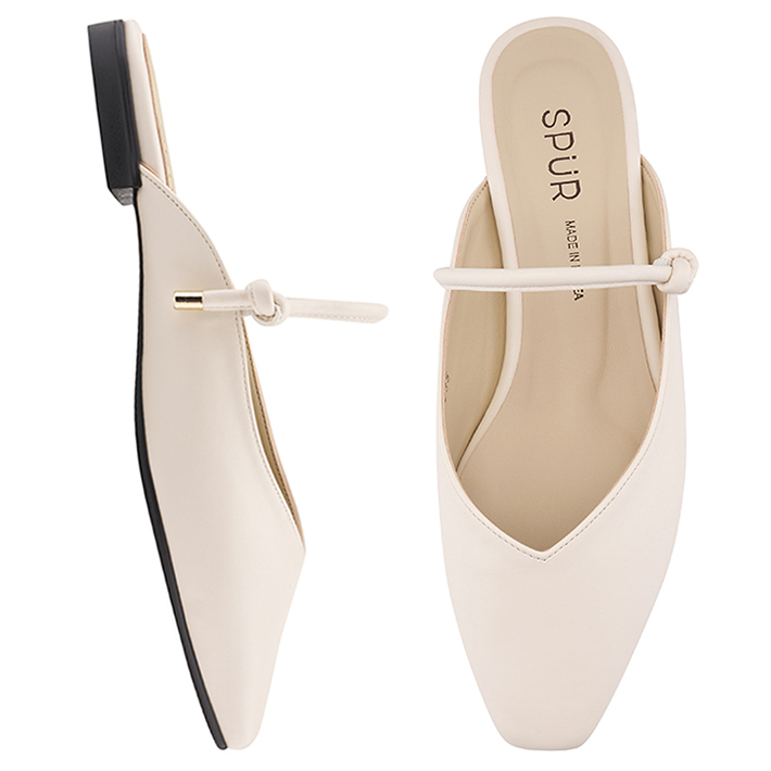 SPUR[스퍼]PS9030 String maryjanes bloafer 아이보리