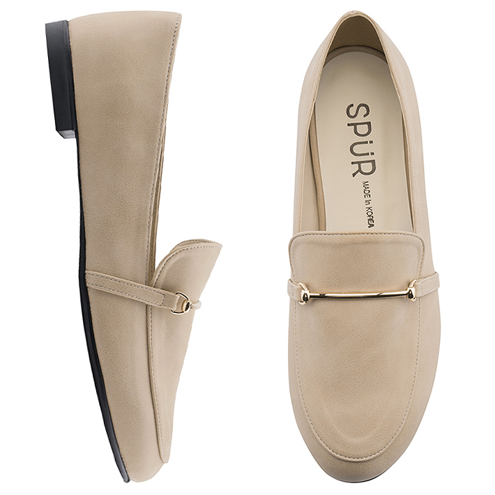 SPUR[스퍼]OF9001 Dord line loafer 베이지