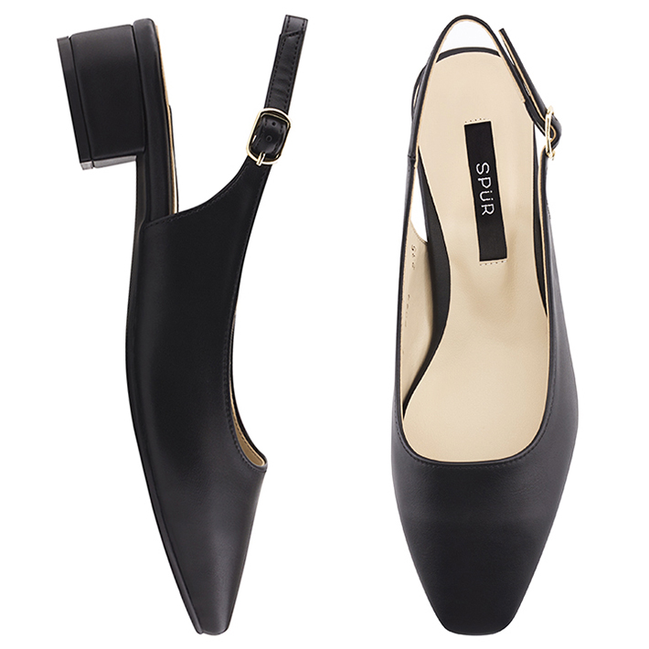 SPUR[스퍼][당일출고]OS7094 Daily slingback 블랙